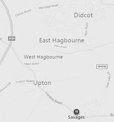Map - Savages - Blewbury