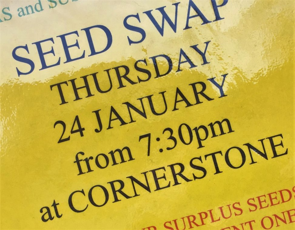 DAS & Sustainable Didcot Seed Swap - 24 Jan 2019