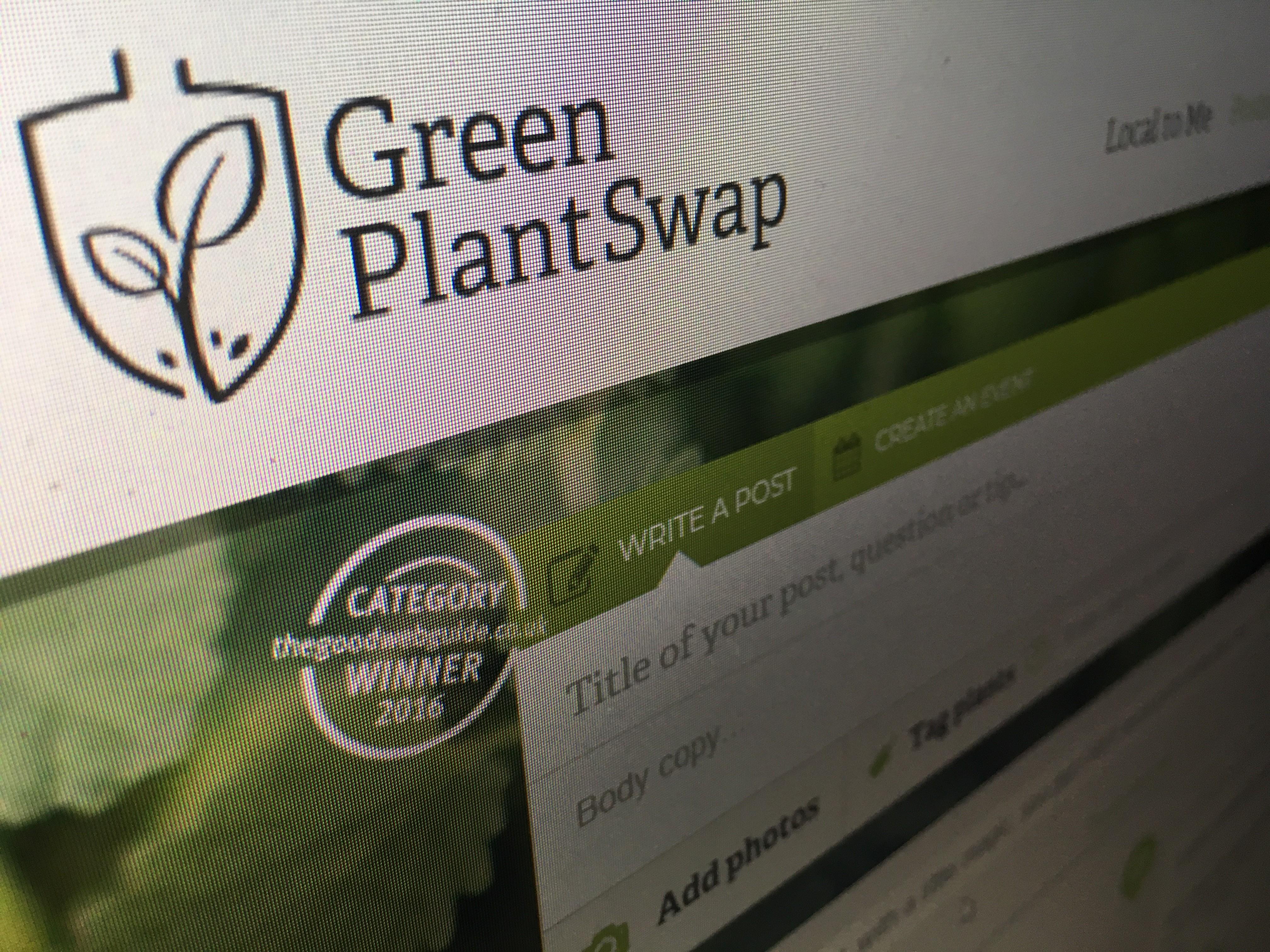 Green Plant Swap Web Site