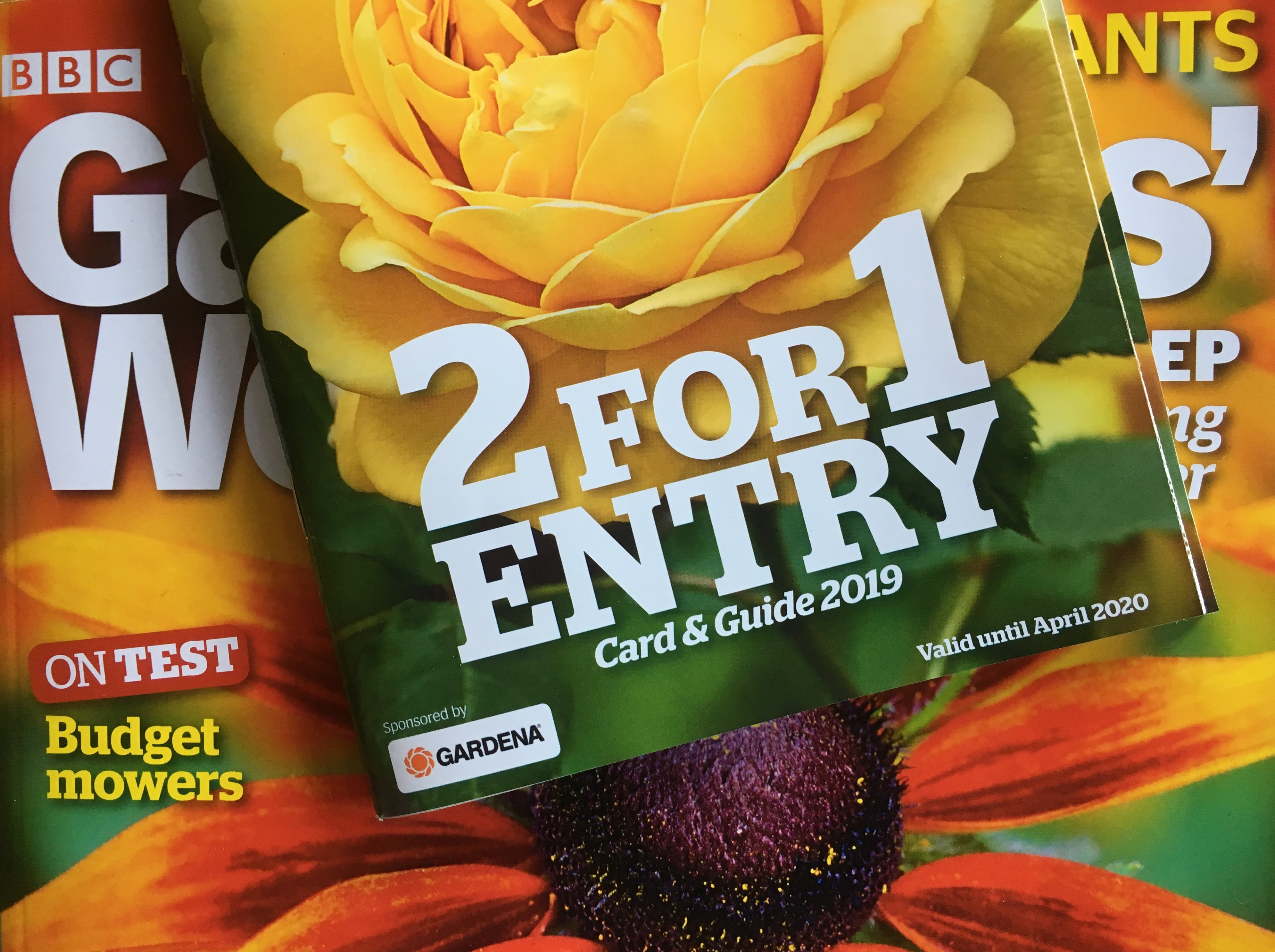 Gardeners' World - 2 for 1 Entry - April 2019