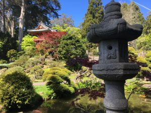 Postcard from The Japanese Tea Garden